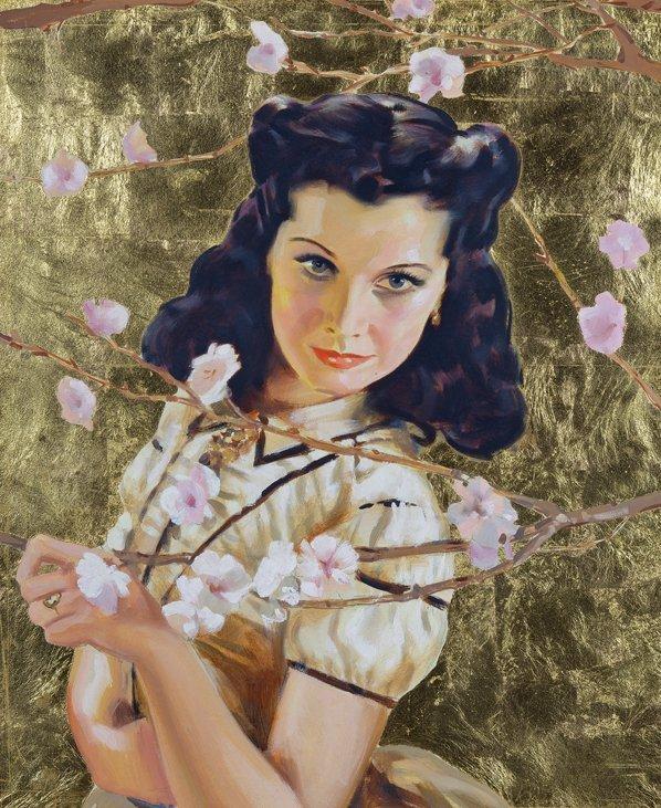 Original vintage Gone With the Wind Vivien Leigh