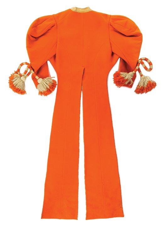 """Eddie Adams """"Munchkin Fiddler"""" orange jacket designed - 2"""