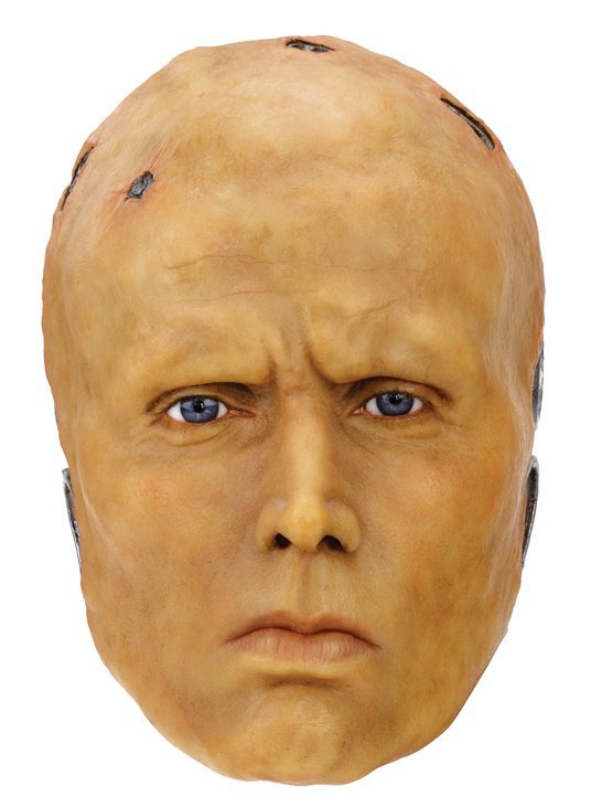 "Peter Weller wax head and plaster cast as ""Robocop"" by - 3"