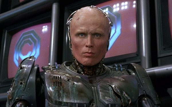 "Peter Weller wax head and plaster cast as ""Robocop"" by - 5"