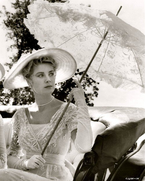 "Grace Kelly ""Princess Alexandra"" ivory period dress - 3"