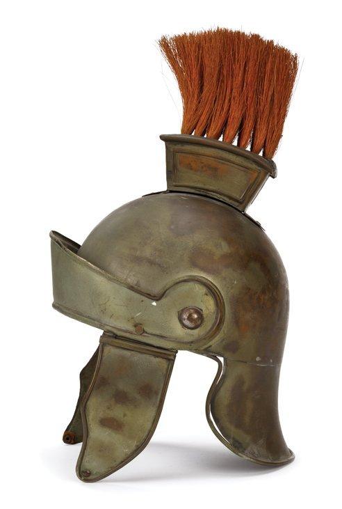 metal roman soldier helmet from ben hur
