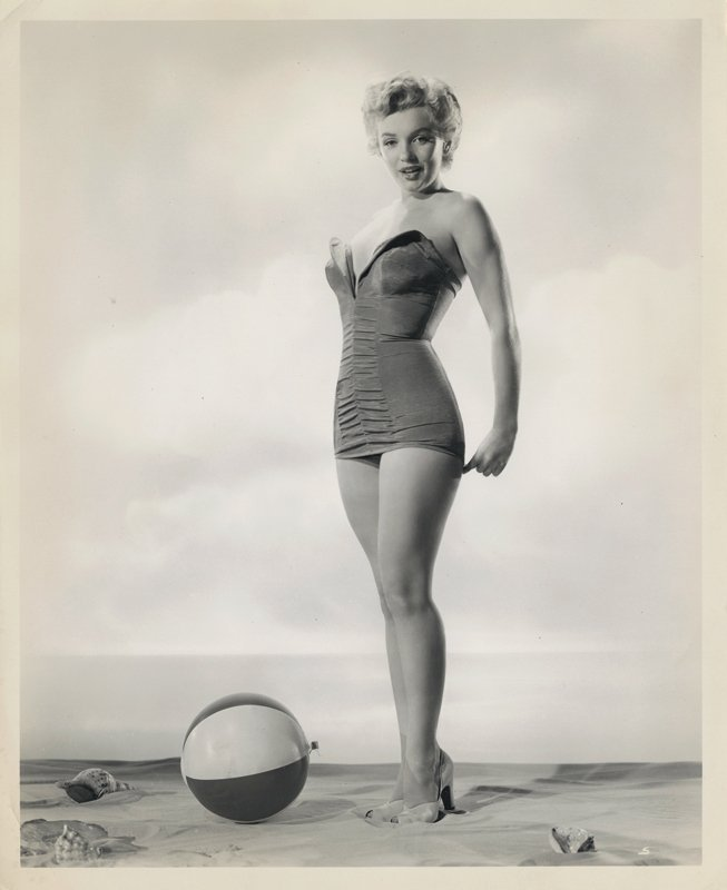 Marilyn Monroe (4) vintage swimsuit photographs by - 3