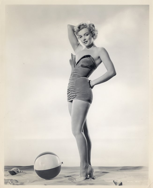 Marilyn Monroe (4) vintage swimsuit photographs by - 4