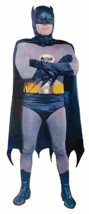 """Trio of screen-used life-size """"Batman"""", """"Robin"""" and"""