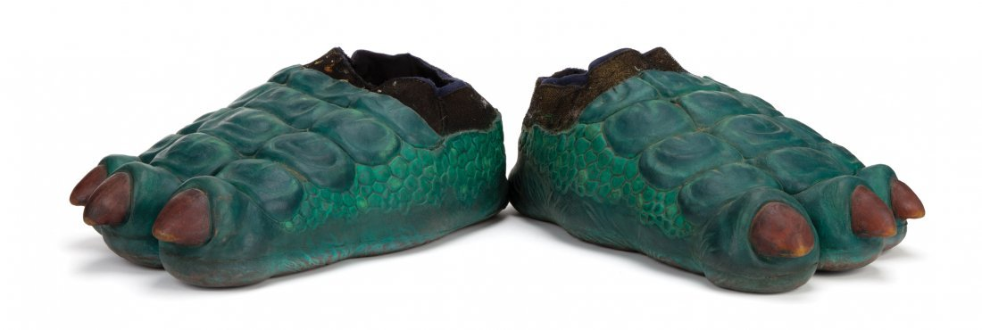"""Fran the dinosaur"" costume feet from Dinosaurs. - 2"