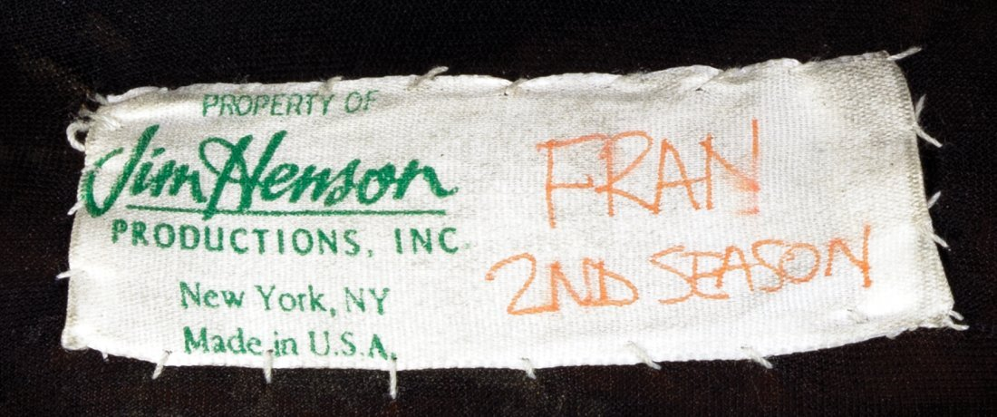 """Fran the dinosaur"" costume feet from Dinosaurs. - 6"