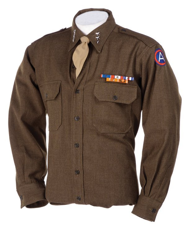 "George C. Scott ""General Patton"" military uniform and - 5"