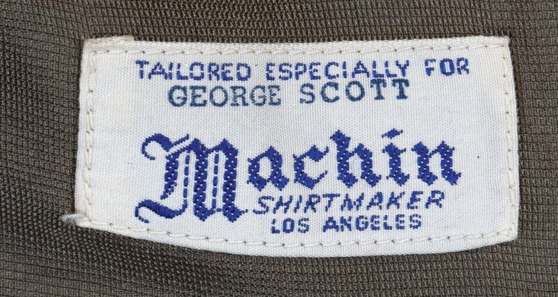 "George C. Scott ""General Patton"" military uniform and - 9"