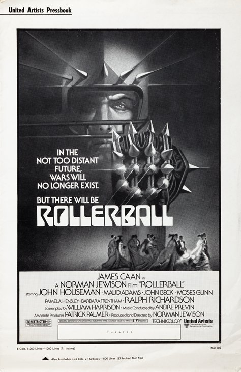Rollerball press book and extensive collection of