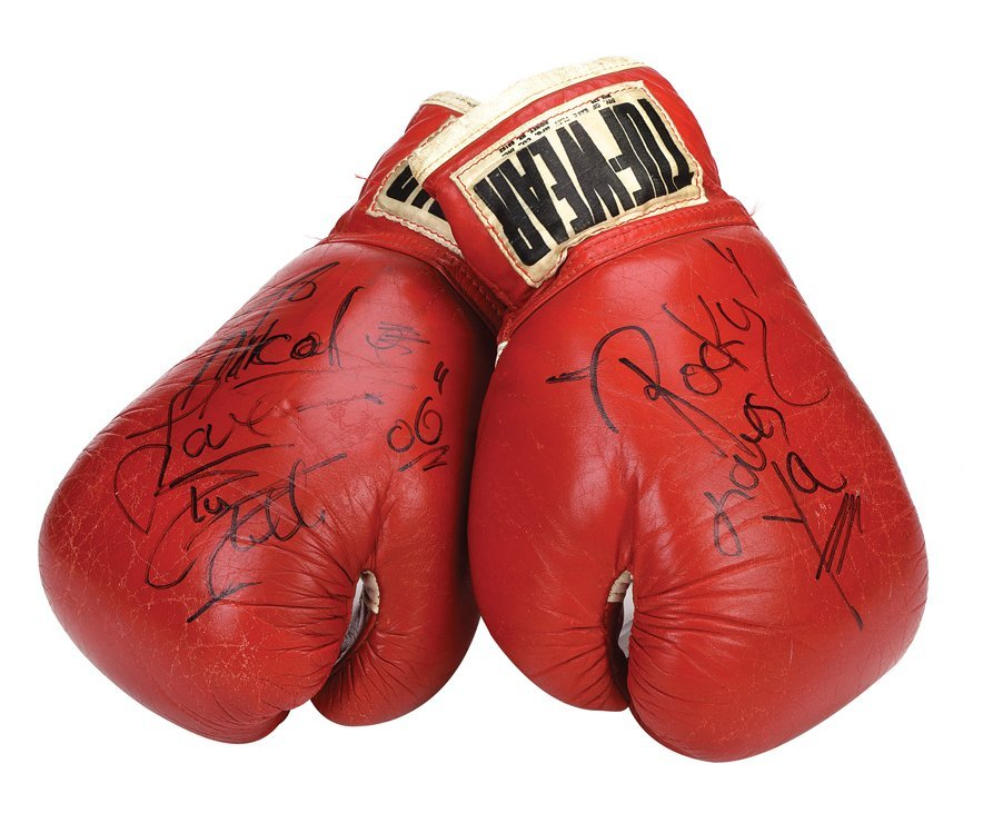 """Sylvester Stallone """"Rocky Balboa"""" screen-used boxing"""