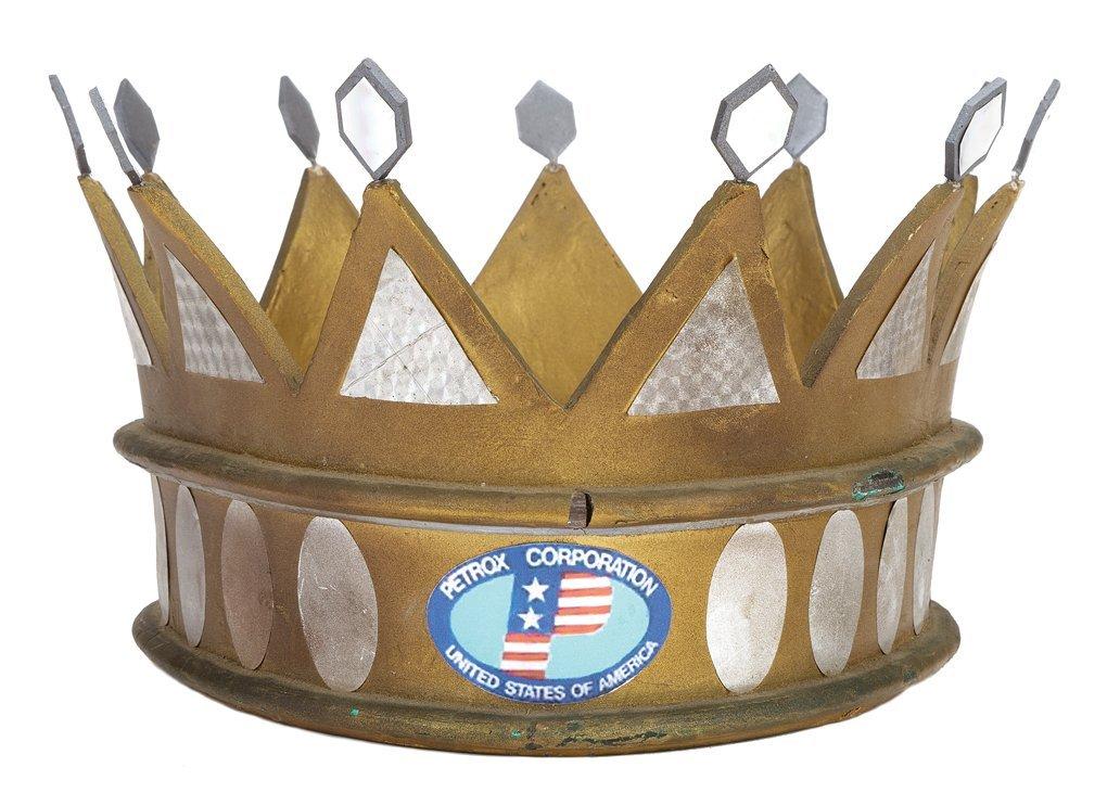 """Kong's"" Petrox crown from King Kong."
