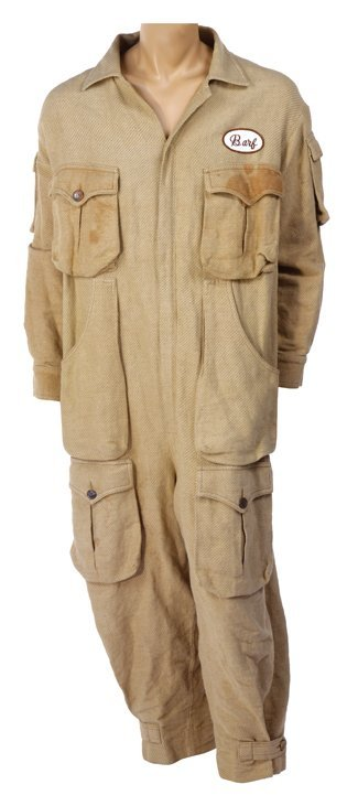 """John Candy """"Barf"""" jumpsuit costume from Spaceballs."""