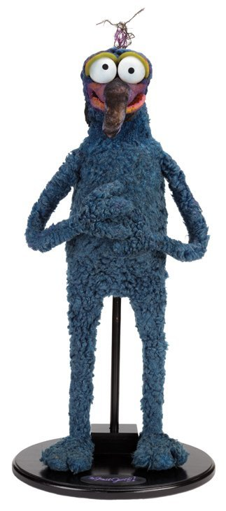 """""""Gonzo"""" screen-used puppet from Muppets from Space."""