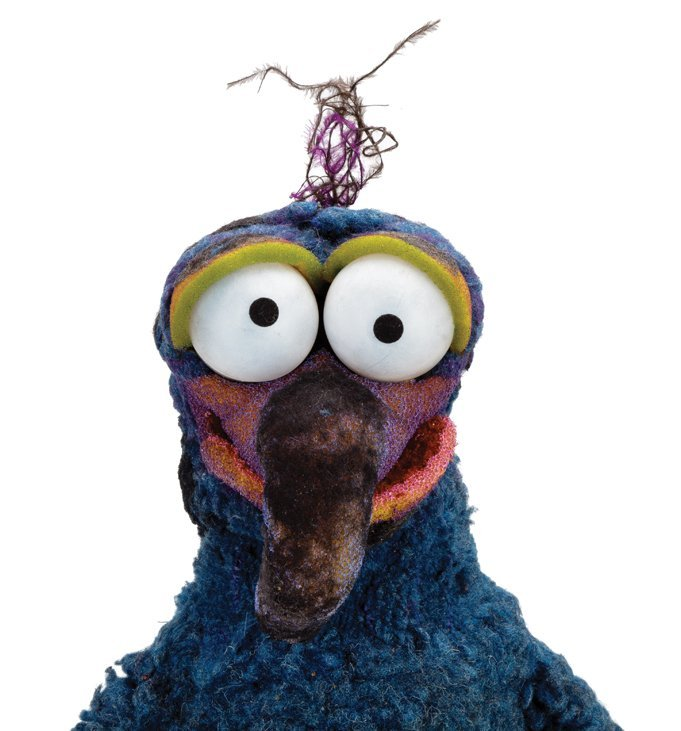 """""""Gonzo"""" screen-used puppet from Muppets from Space. - 5"""