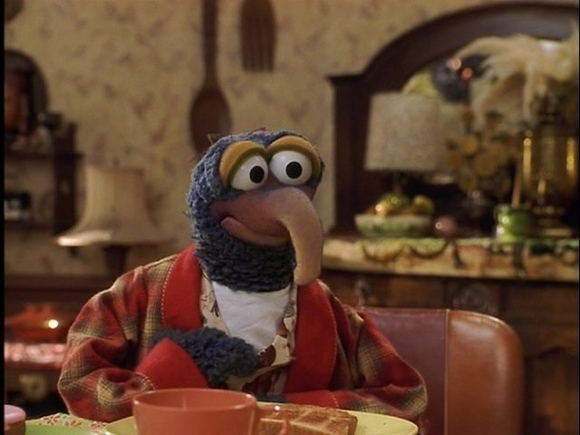 """""""Gonzo"""" screen-used puppet from Muppets from Space. - 7"""