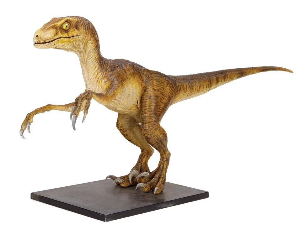"""Jurassic Park """"Velociraptor"""" maquette."""