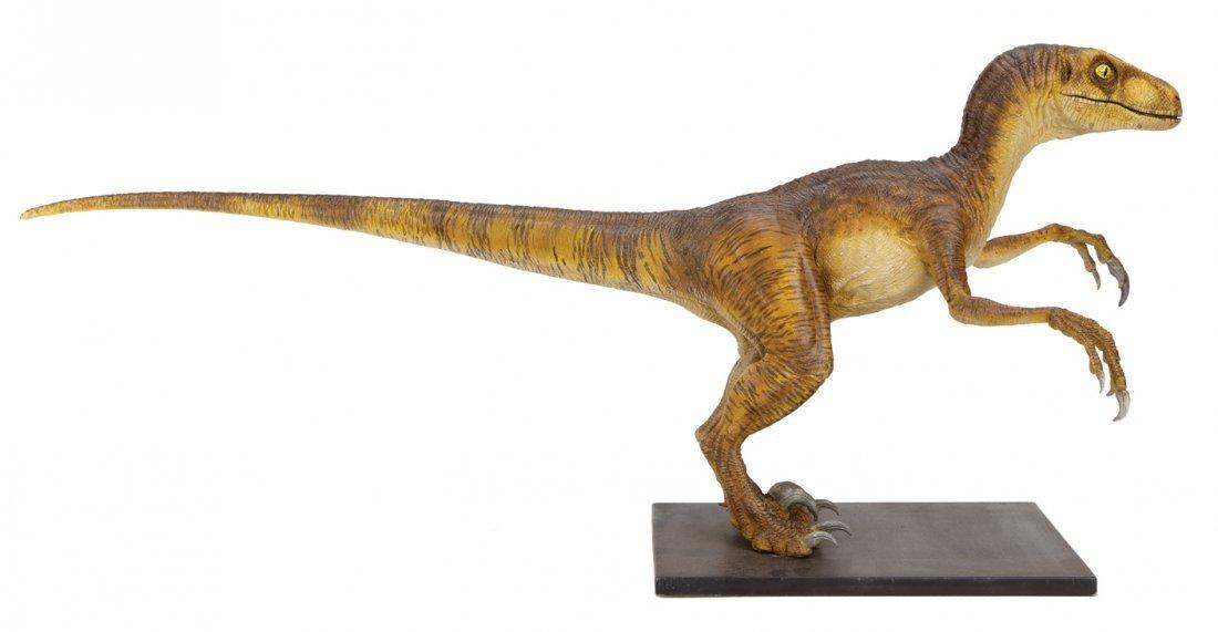 """Jurassic Park """"Velociraptor"""" maquette. - 4"""