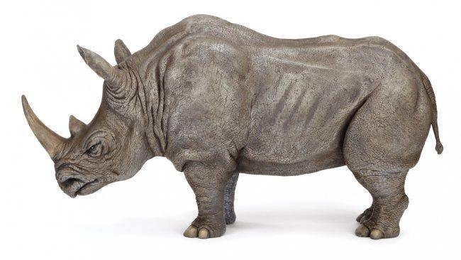 Jumanji Rhinoceros Maquette Lot 1430