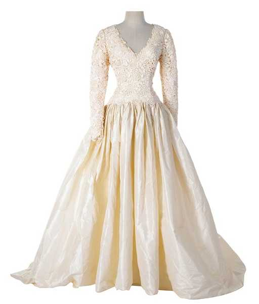 "Sophia Loren ""Maria"" screen-worn wedding dress by Nolan"