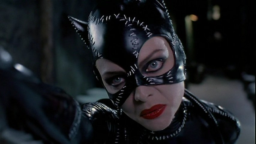 "Michelle Pfeiffer stage 2 ""Catwoman"" cowl from Batman - 7"