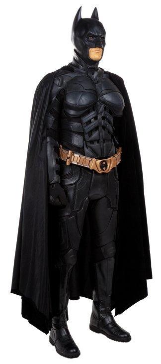 """Batman"" stunt costume and display from The Dark Knight"