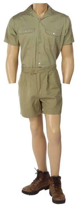 Steve Irwin and Terri Irwin costume lot from The