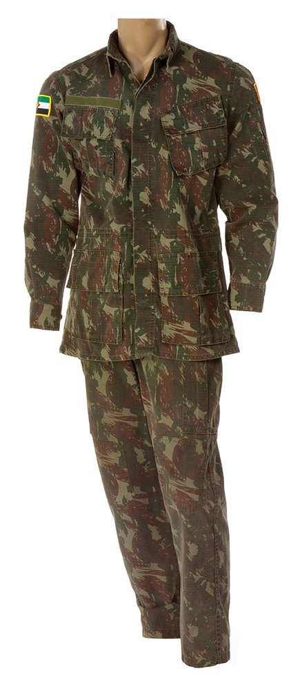 General Garza henchman uniform from   The Expendables