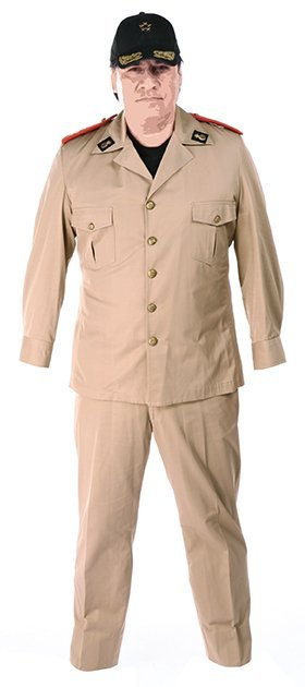 General Garza military uniform from   The Expendables