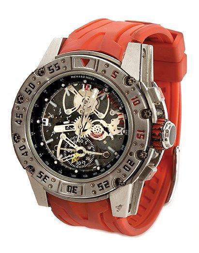 Barney Ross signature Richard Mille chronograph