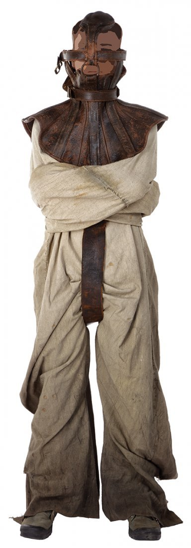 Doc prison straightjacket costume from   The
