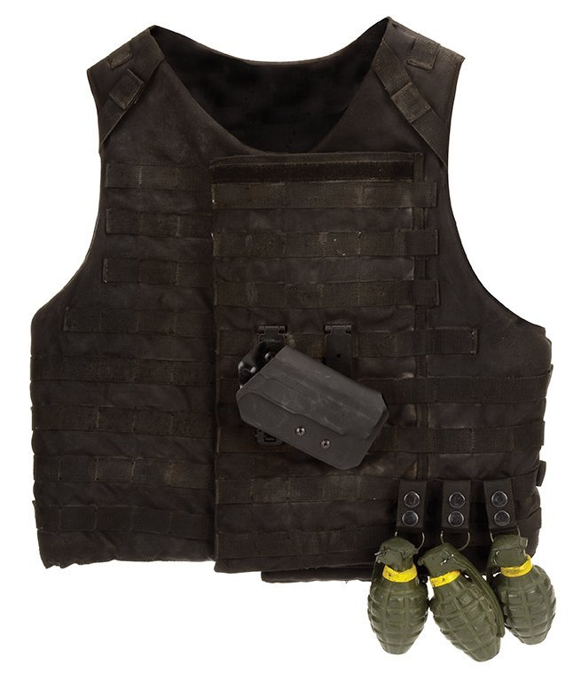 Lee Christmas tactical vest from   The Expendables 3