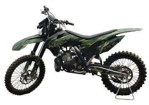 KTM 250 motocross motorcycle (M-310).