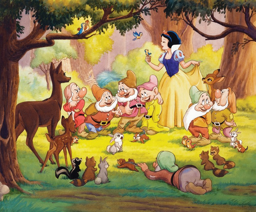 New York Graphic Society Walt Disney (4) original - 3