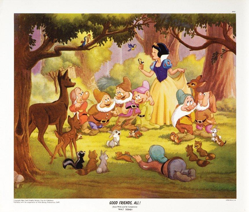 New York Graphic Society Walt Disney (4) original - 5