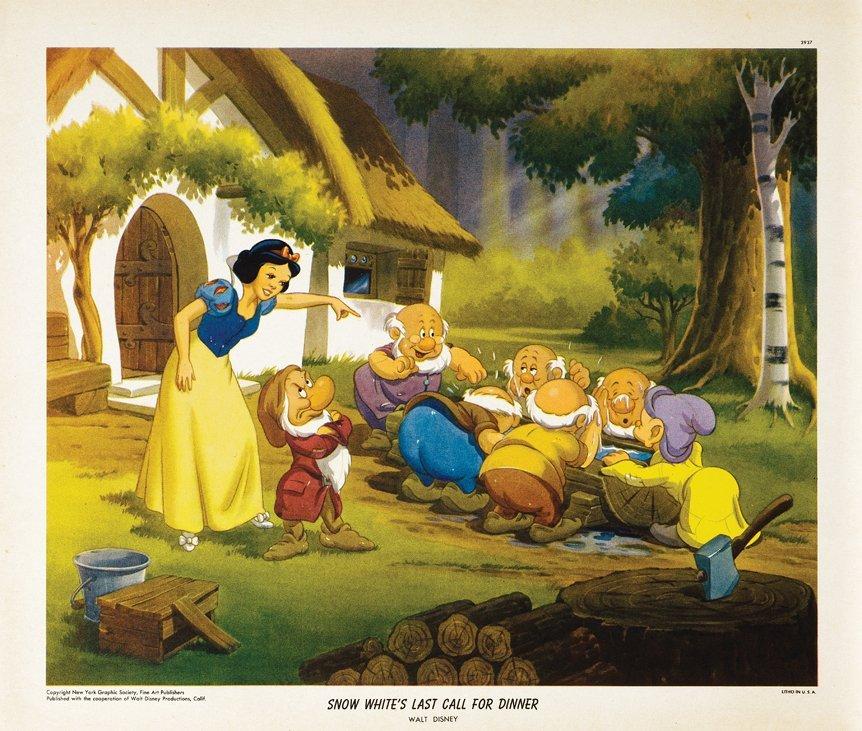 New York Graphic Society Walt Disney (4) original - 6