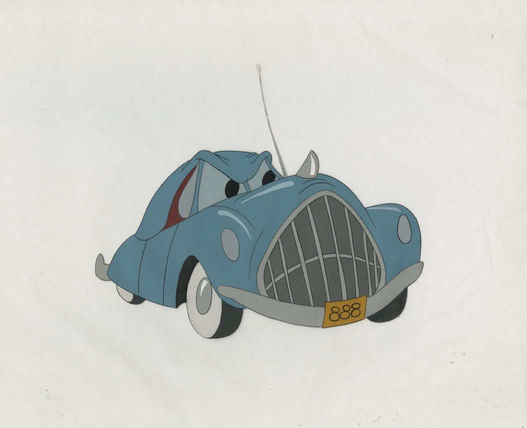 Production cel from   Susie The Little Blue Coupe  .