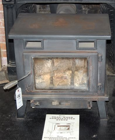 94: Coal-wood Combination Stove; Mfg Russo Mfg Corp