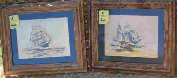 Ship prints on Foil