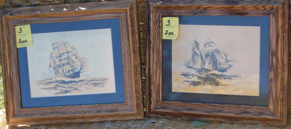 3: Ship prints on Foil