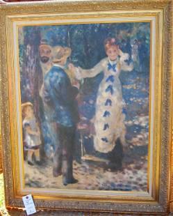 """Renoir print """"The Swing"""""""