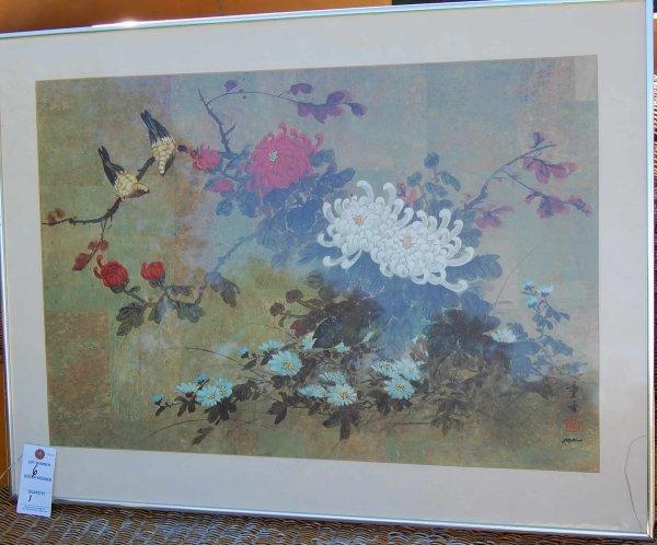 6: Oriental print