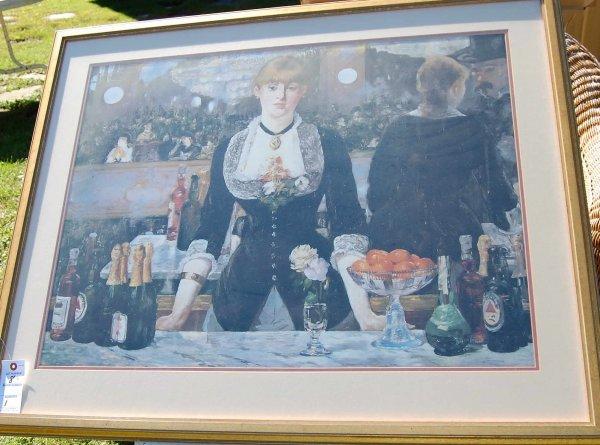 8: Manet print