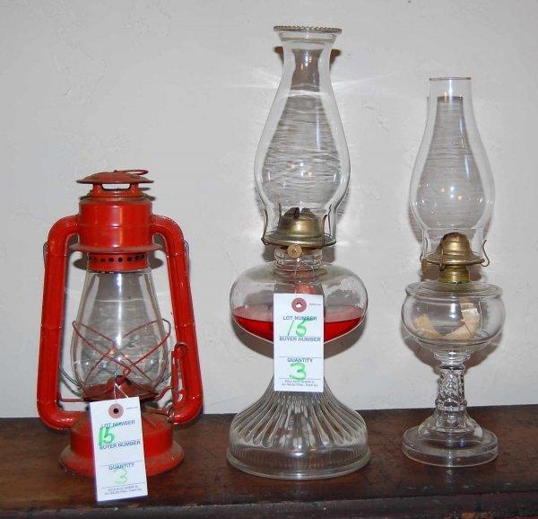 15: Vintage oil lamps