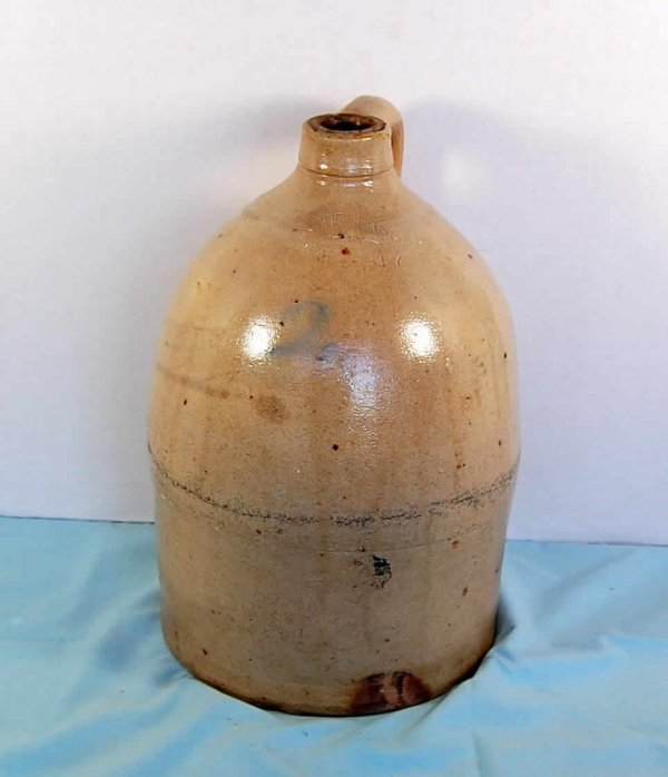 20: Stoneware Grocery jug