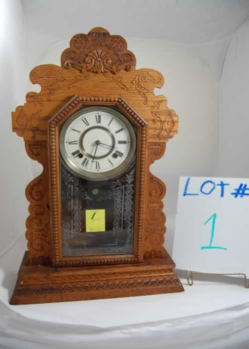 1: Ansonia Shelf Clock (1880-1890)