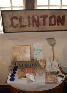 Town of Clinton Massachusetts collectibles