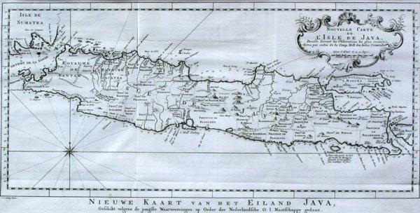 19: Nieuwe Kaart van het Eiland Java