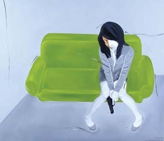 317: The Girl with Green Sofa