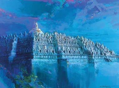 723: Borobudur
